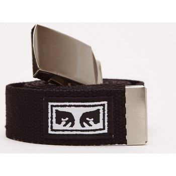Tekstilni dodatki Moški Pasovi Obey Big boy web belt Črna