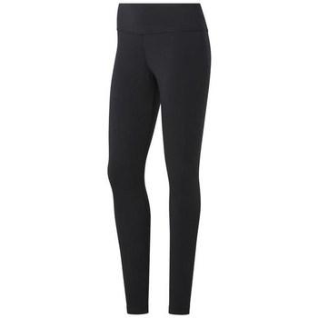 Oblačila Ženske Pajkice Reebok Sport TE Cotton Legging Črna