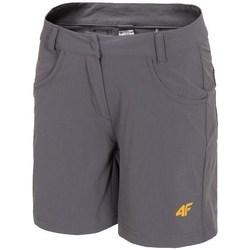 Oblačila Ženske Kratke hlače & Bermuda 4F SKDF060 Siva