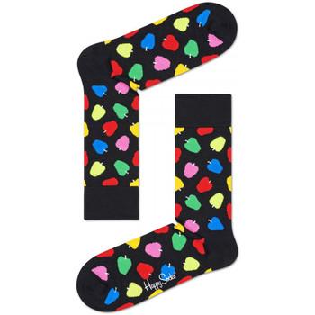 Dodatki  Moški Nogavice Happy Socks Apple sock Večbarvna