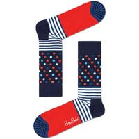 Dodatki  Moški Nogavice Happy Socks Stripes and dots sock Večbarvna