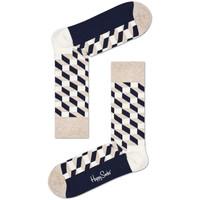 Dodatki  Moški Nogavice Happy Socks Filled optic sock Večbarvna