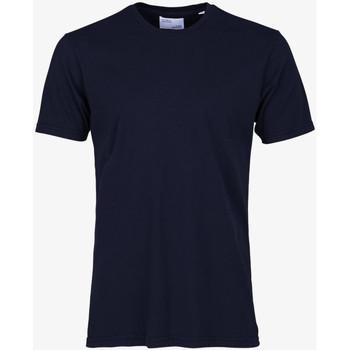 Oblačila Moški Majice s kratkimi rokavi Colorful Standard CLASSIC ORGANIC TEE navy-blue-blu