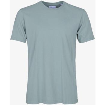 Oblačila Moški Majice s kratkimi rokavi Colorful Standard CLASSIC ORGANIC TEE steel-blue