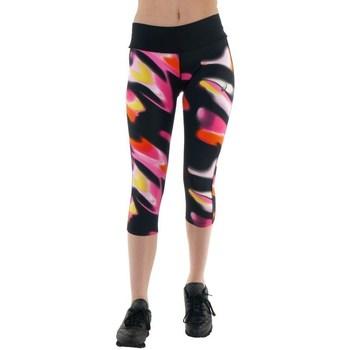 Oblačila Ženske Hlače Asics 34 Fuzex Knee Tight Črna, Roza