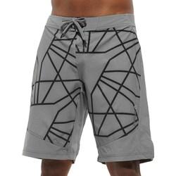 Oblačila Moški Kratke hlače & Bermuda Reebok Sport Les Mills Board Short Siva