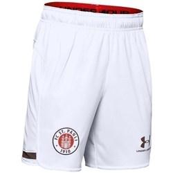 Oblačila Dečki Kratke hlače & Bermuda Under Armour JR FC ST Pauli Replica Bela