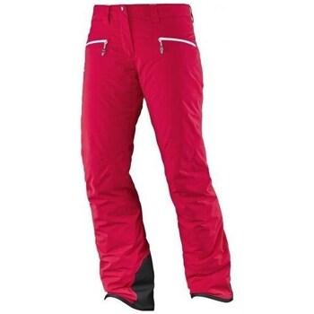 Oblačila Ženske Hlače Salomon Whitecliff Gtx W Rdeča
