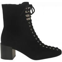 Čevlji  Ženske Gležnjarji Jeffrey Campbell BELMONDO-2 SUEDE black