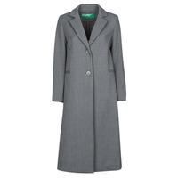 Oblačila Ženske Plašči Benetton  Siva