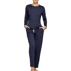 Oblačila Ženske Pižame & Spalne srajce Impetus Travel Woman 8500F84 F86 Modra