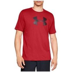 Oblačila Moški Majice s kratkimi rokavi Under Armour Big Logo SS Tee Rdeča