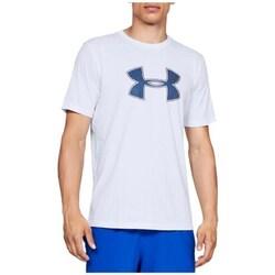 Oblačila Moški Majice s kratkimi rokavi Under Armour Big Logo SS Tee Bela