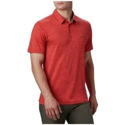 Oblačila Moški Polo majice kratki rokavi Columbia Tech Trail Polo Shirt Rdeča