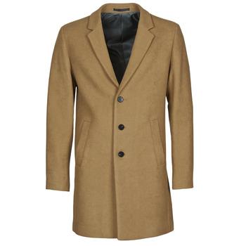 Oblačila Moški Plašči Jack & Jones JJEMOULDER Kamel