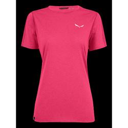Oblačila Ženske Majice s kratkimi rokavi Salewa Pedroc 3 DRY W S/S TEE 27726-6385 pink