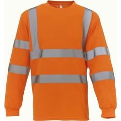 Oblačila Majice z dolgimi rokavi Yoko T-Shirt manches longues  Haute Visibilité orange