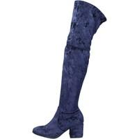 Čevlji  Ženske Škornji Accademia Čevlji BK400 Modra