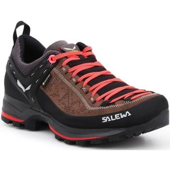 Čevlji  Ženske Pohodništvo Salewa WS MTN Trainer 2 GTX 61358-0480 black, brown