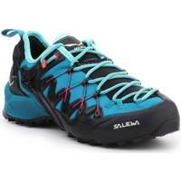 Čevlji  Ženske Pohodništvo Salewa WS Wildfire Edge 61347-8736 black, blue