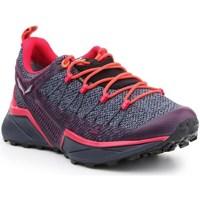 Čevlji  Ženske Tek & Trail Salewa WS Dropline Gtx Siva, Oranžna, Vijolična