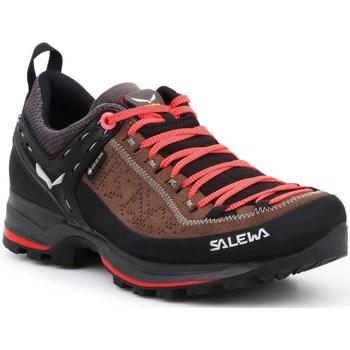 Čevlji  Ženske Fitnes / Trening Salewa WS Mtn Trainer 2 Gtx Črna, Oranžna, Rjava