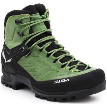Čevlji  Moški Pohodništvo Salewa MS Mtn Trainer Mid Gtx Črna, Zelena