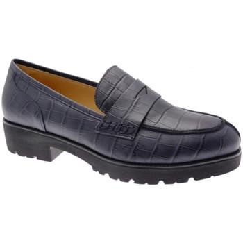 Čevlji  Ženske Mokasini Donna Soft DOSODS0945blu blu