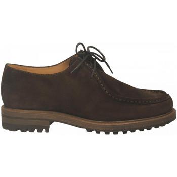 Čevlji  Moški Čevlji Derby Antica Cuoieria CORTINA nutella