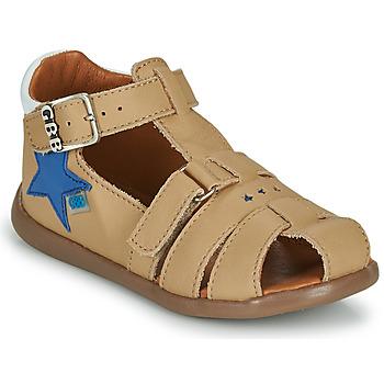 Čevlji  Dečki Sandali & Odprti čevlji GBB GARDOU Bež