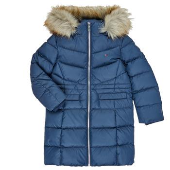 Oblačila Deklice Puhovke Tommy Hilfiger KG0KG05397-C87-C Modra