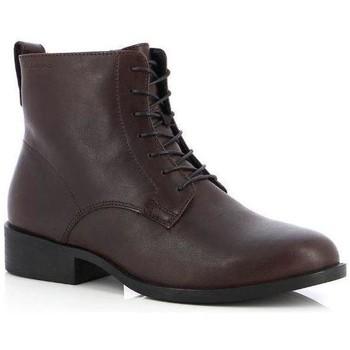 Čevlji  Ženske Gležnjarji Vagabond Shoemakers Cary Espresso Booties Brown