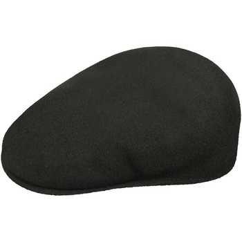Tekstilni dodatki Moški Kape s šiltom Kangol Casquette  Wool 504 noir