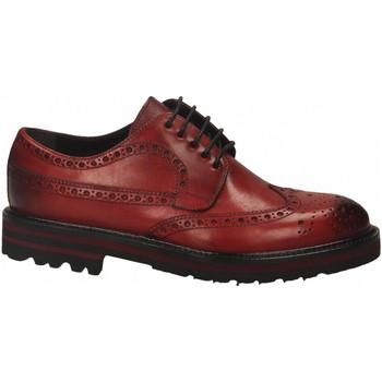 Čevlji  Moški Čevlji Derby Brecos VITELLO rosso