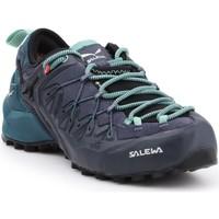 Čevlji  Ženske Pohodništvo Salewa WS Wildfire Edge GTX 61376-3838 black, green, navy