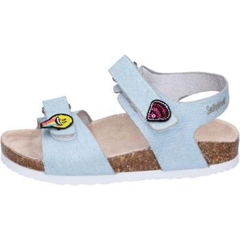 Čevlji  Deklice Sandali & Odprti čevlji Smiley Sandali Tessuto Blu