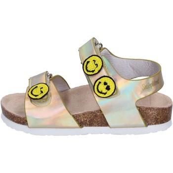 Čevlji  Deklice Sandali & Odprti čevlji Smiley Sandali Pelle sintetica Oro