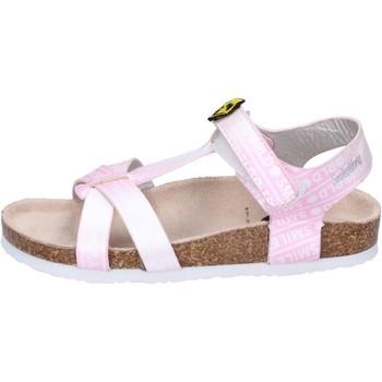 Čevlji  Deklice Sandali & Odprti čevlji Smiley Sandali Pelle sintetica Rosa