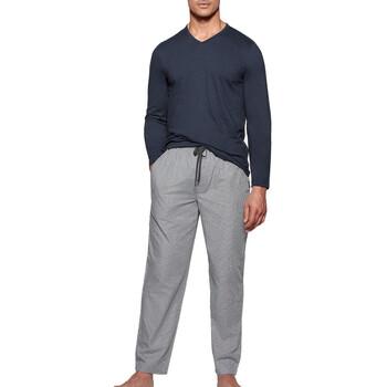 Oblačila Moški Pižame & Spalne srajce Impetus 1523310 E97 Modra