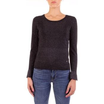 Oblačila Ženske Puloverji Yes Zee M028-IG00 Nero