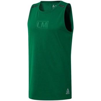Oblačila Moški Majice brez rokavov Reebok Sport Les Mills Performance Zelena