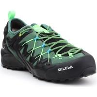 Čevlji  Moški Pohodništvo Salewa MS Wildfire Edge Gtx Črna, Zelena