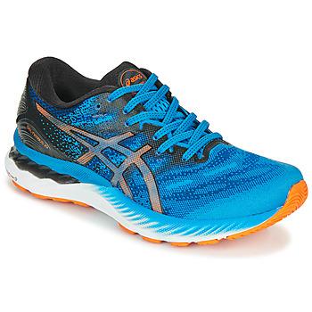 Čevlji  Moški Tek & Trail Asics NIMBUS 23 Modra / Večbarvna