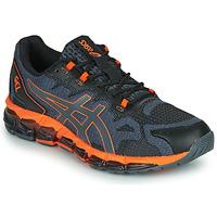 Čevlji  Moški Nizke superge Asics QUANTUM 360 6 Črna / Siva / Oranžna