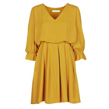 Oblačila Ženske Kratke obleke Naf Naf  Rumena