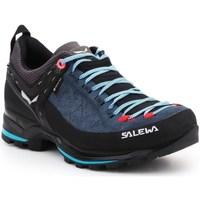 Čevlji  Ženske Fitnes / Trening Salewa WS Mtn Trainer 2 Gtx Črna, Mornarsko modra