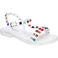 Čevlji  Deklice Sandali & Odprti čevlji Joli BK530 Bela