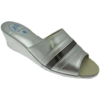 Čevlji  Ženske Natikači Milly MILLY1706arg grigio