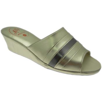 Čevlji  Ženske Natikači Milly MILLY1706pla grigio