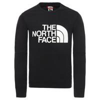 Oblačila Dečki Puloverji The North Face DREW PEAK LIGHT CREW Črna